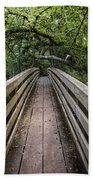 Suspension Bridge To Destiny Beach Towel