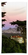Sutro Heights Park View Beach Towel
