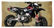 Suzuki Race Motorcycle. 387. Beach Towel