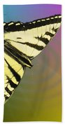 Swallowtail - Come Fly Away With Me Beach Towel