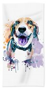 Sweet Beagle Beach Towel