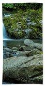 Sweet Creek Falls Beach Towel