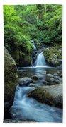 Sweet Creek Falls Vertical Beach Towel