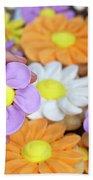 Sweet Floral Array Beach Towel