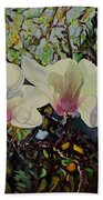 Sweet Magnolias Beach Towel