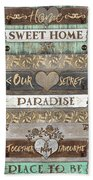 Sweet Paradise Series Beach Towel