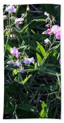 Sweet Pea In Tahoe Beach Towel
