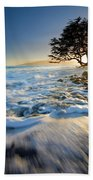 Swept Out To Sea Beach Towel by Mike  Dawson