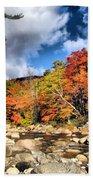 Swift River New Hampshire Beach Towel
