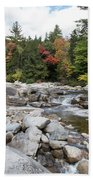 Swift River, New Hampshire Beach Towel