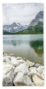Swiftcurrent Lake Beach Towel
