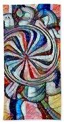 Swirl 12 Beach Towel