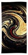 Swirl Design 2 Beach Towel