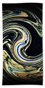 Swirl Design  Beach Towel