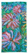 Swirling Color Beach Towel