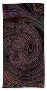 Swirlpool Neon Beach Towel