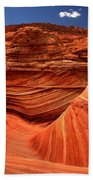 Swirls Waves And Buttes Beach Towel