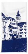 Swiss City Beach Towel