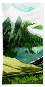 Switzerland Beach Towel