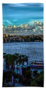 Sydney Harbor And Opera House Beach Towel