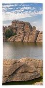 Sylvan Lake View Beach Towel