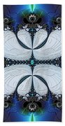 Symmetry In Circuitry Beach Towel