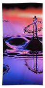 Synchronized Liquid Art Beach Towel