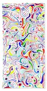 Synesthesia Beach Towel