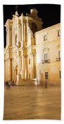 Syracuse, Sicily, Italy - Ortigia Downtown In Syracuse By Beach Towel