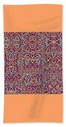 T J O D Mandala Series Puzzle 3 Variations 1-9 Beach Towel