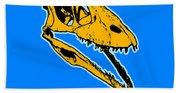 T-rex Graphic Beach Towel
