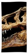 T-rex Skull Beach Towel
