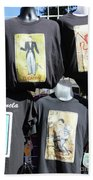 T Shirt Display Day Of Dead Beach Sheet