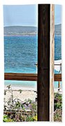 Table With A View Beach Towel