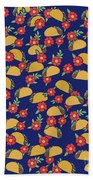 Taco Tuesday  Beach Towel