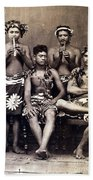 Tahiti: Men, C1890 Beach Towel