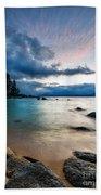 Tahoe Bursting Clouds Beach Towel