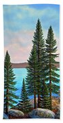 Tahoe Shore Beach Towel