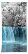 Tahquamenon Falls Ir 720nm Beach Towel