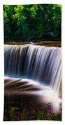 Tahquamenon Falls Beach Towel