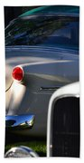 Tail Light Beach Towel