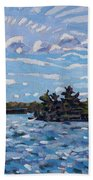 Tail Wind Beach Towel