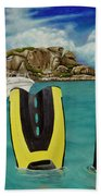 Take Me To Creole Rock Beach Towel