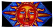 Talking Sun Beach Towel