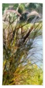 Tall Grasses Beach Towel