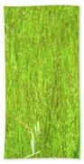 Tall Grassy Meadow Beach Towel