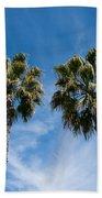 Tall Palms Couples Beach Towel