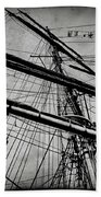 Tall Ship Mast V3 Beach Towel