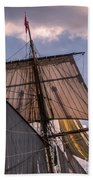 Tall Ship Sails 6 Beach Towel