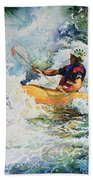 Taming Of The Chute Beach Towel